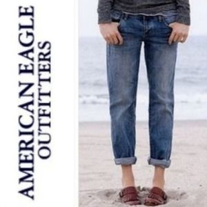 American Eagle Outfitters Boy Fit Cropped Jeans 2